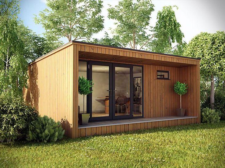Drawn office garden office On pods Garden The Office