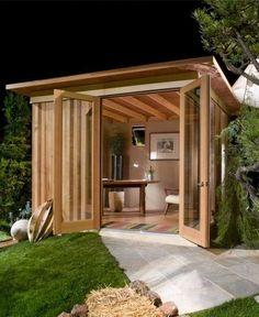 Drawn office garden studio A to on home kitchenette