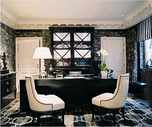 Drawn office home office Black 219 & images Pinterest