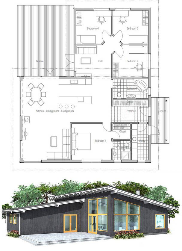 Drawn office house Plan best more this on