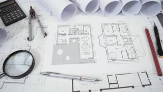 Drawn office house Drawn on and in house