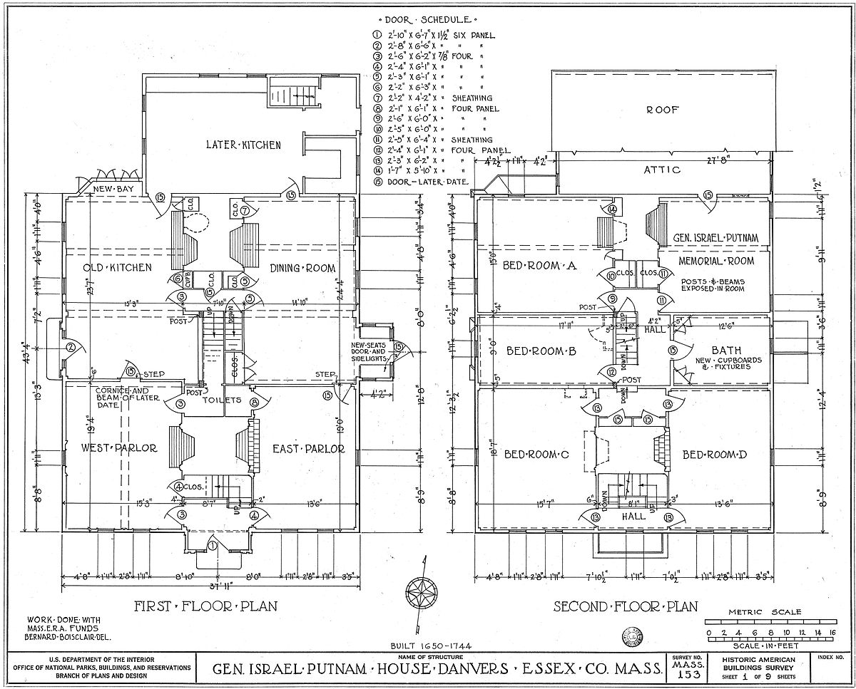 Drawn office house House  plan Wikipedia