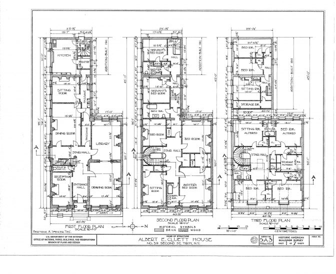 Drawn office house Of Plans House Drawn Floor