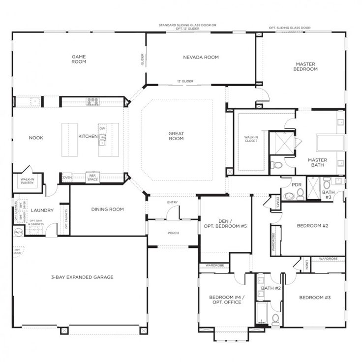 Drawn office house Plans Pinterest ideas House Single