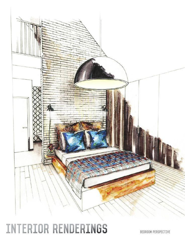 Interior Designs clipart hand sketching 25+ Portfolio Interior Interior Design