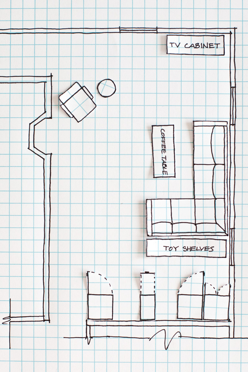 Drawn office interior planning How How Plan Floor a
