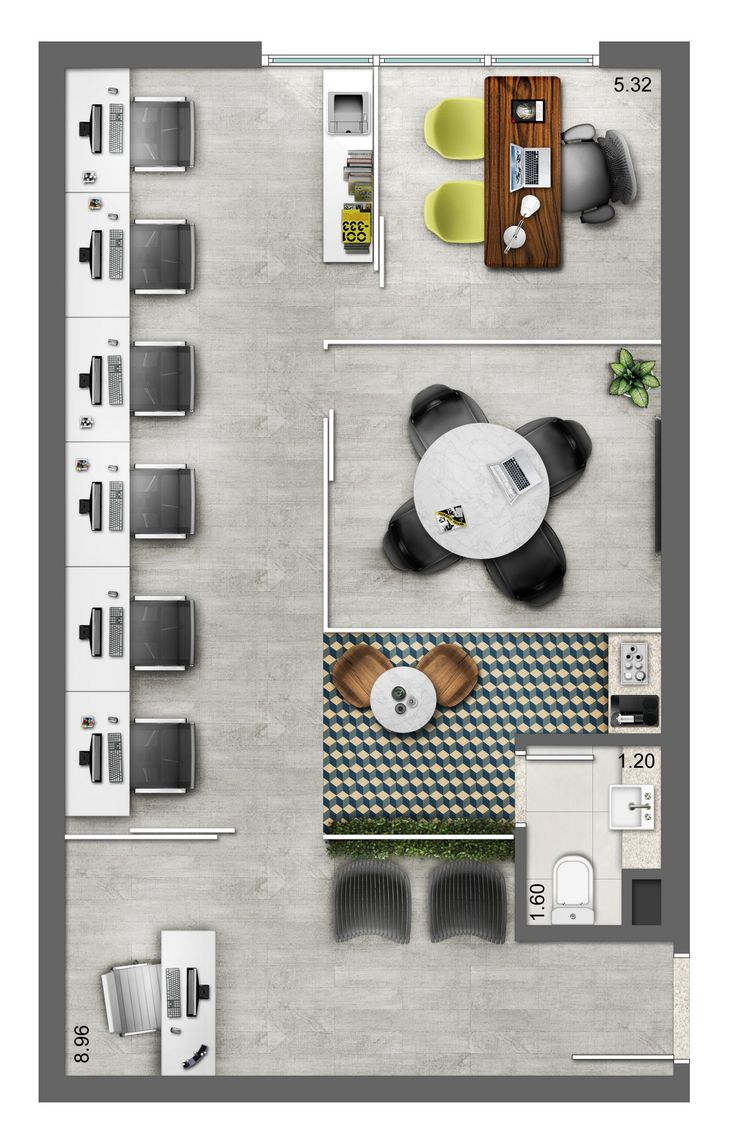 Drawn office interior space Small Pinterest Plan Smart/Lima 25+