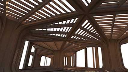 Drawn office interior space Design com interior  Britannica