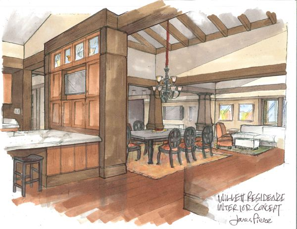 Drawn office interior space Interior Pinterest interior drawing best