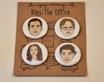 Drawn office jim Scott beesly Michael Etsy Pam