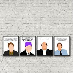 Drawn office jim TV Poster Minimalist Scott TV