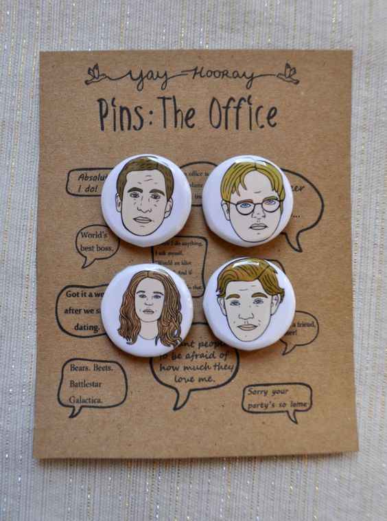 Drawn office jim Scott Office button Michael Cast