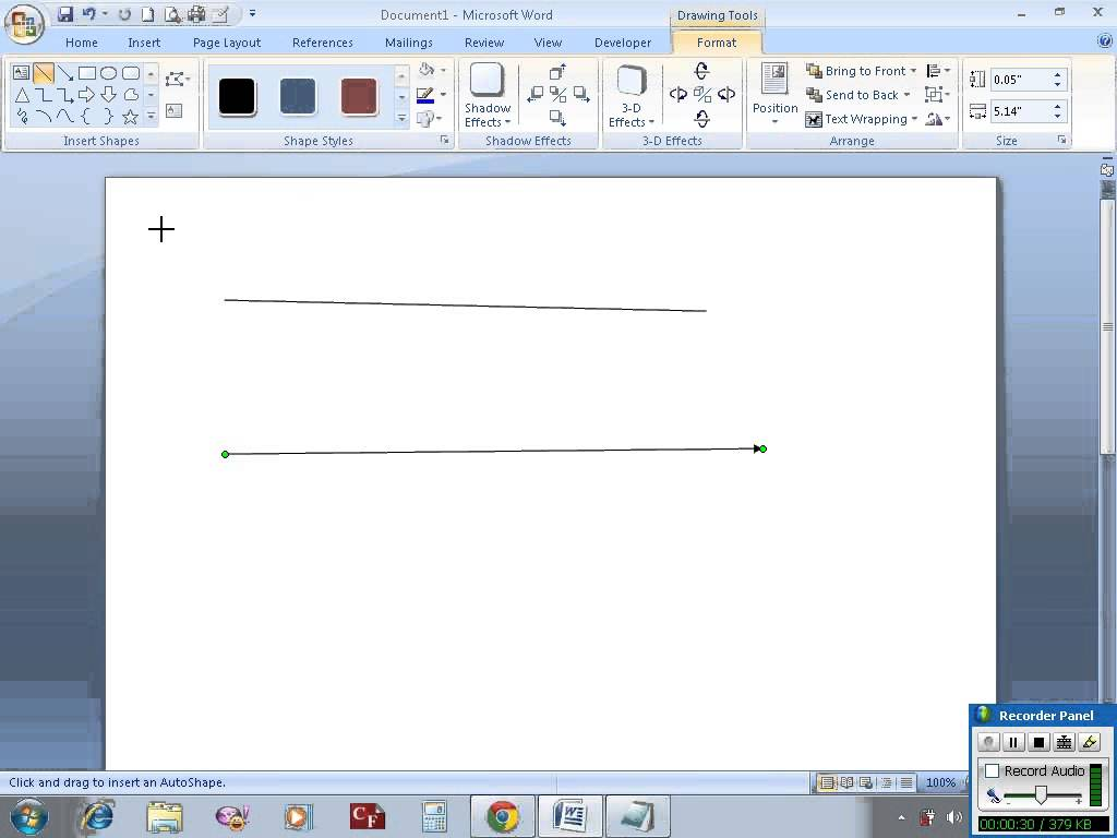 Drawn office line drawing Draw MS vertical in &