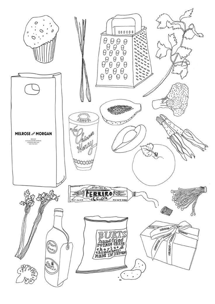 Drawn office line drawing Patterns Hand images Pinterest 15033