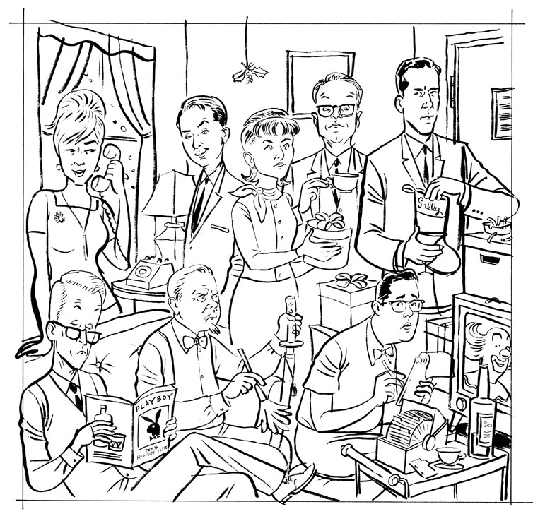 Drawn office line drawing Of 2009 the Blog: (thankfully)