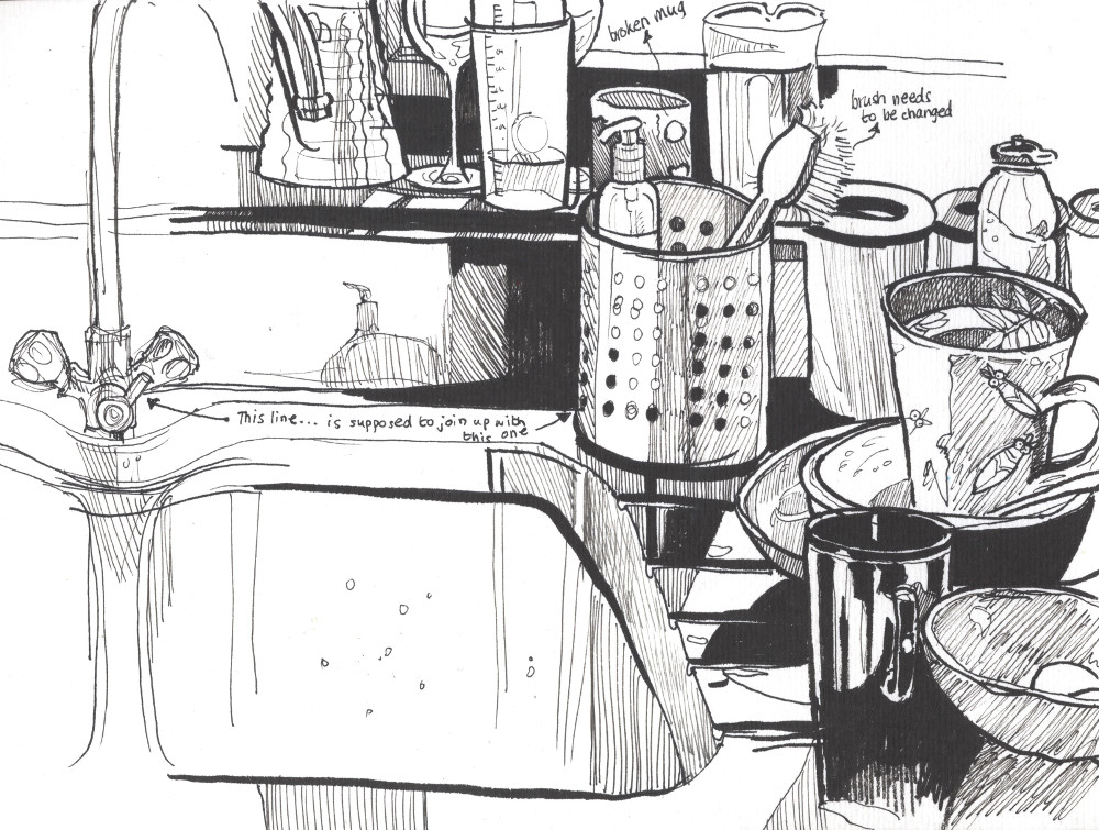 Drawn office messy By Roisin for Tips Messy