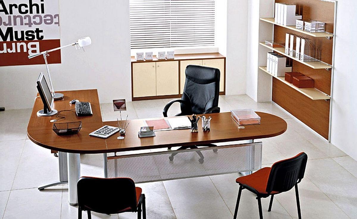 Drawn office modern Furniture : Full Office Set