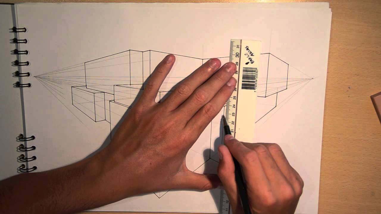 Drawn bulding  technical drawing #1: DESIGN YouTube ARCHITECTURE #1: