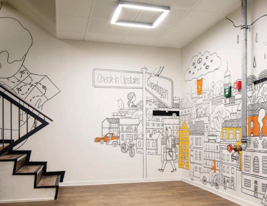 Drawn office office design On ideas Best  mural