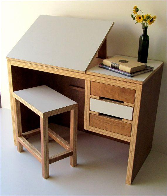 Drawn office office desk Modern on · desk drawing