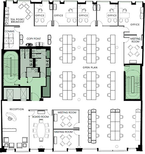 Drawn office office layout Pinterest layout best about plan