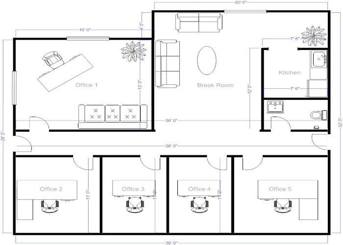 Drawn office office layout Layout online on Small Lovely