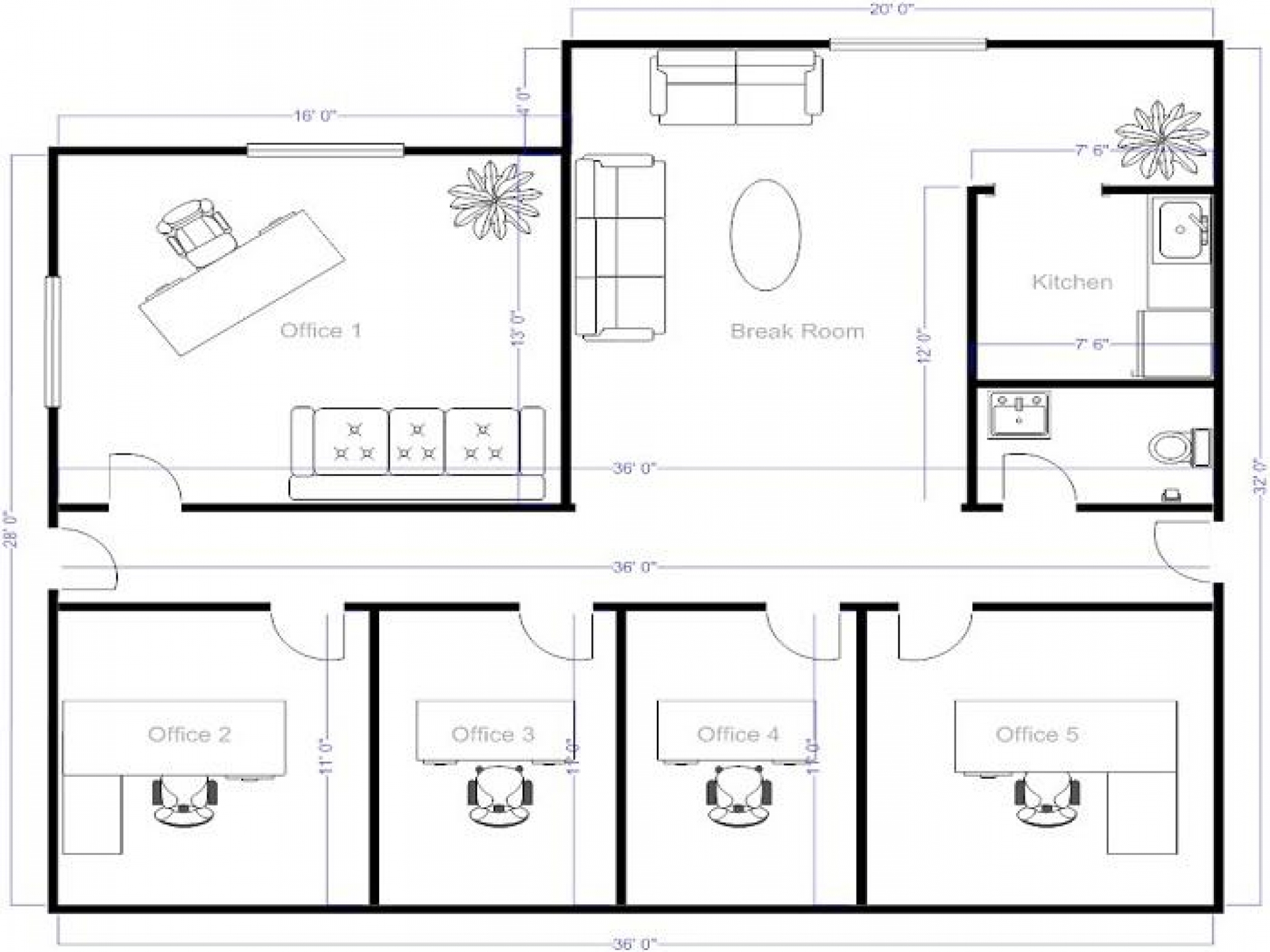 Drawn office office layout  Floor Plan Httpss Cache