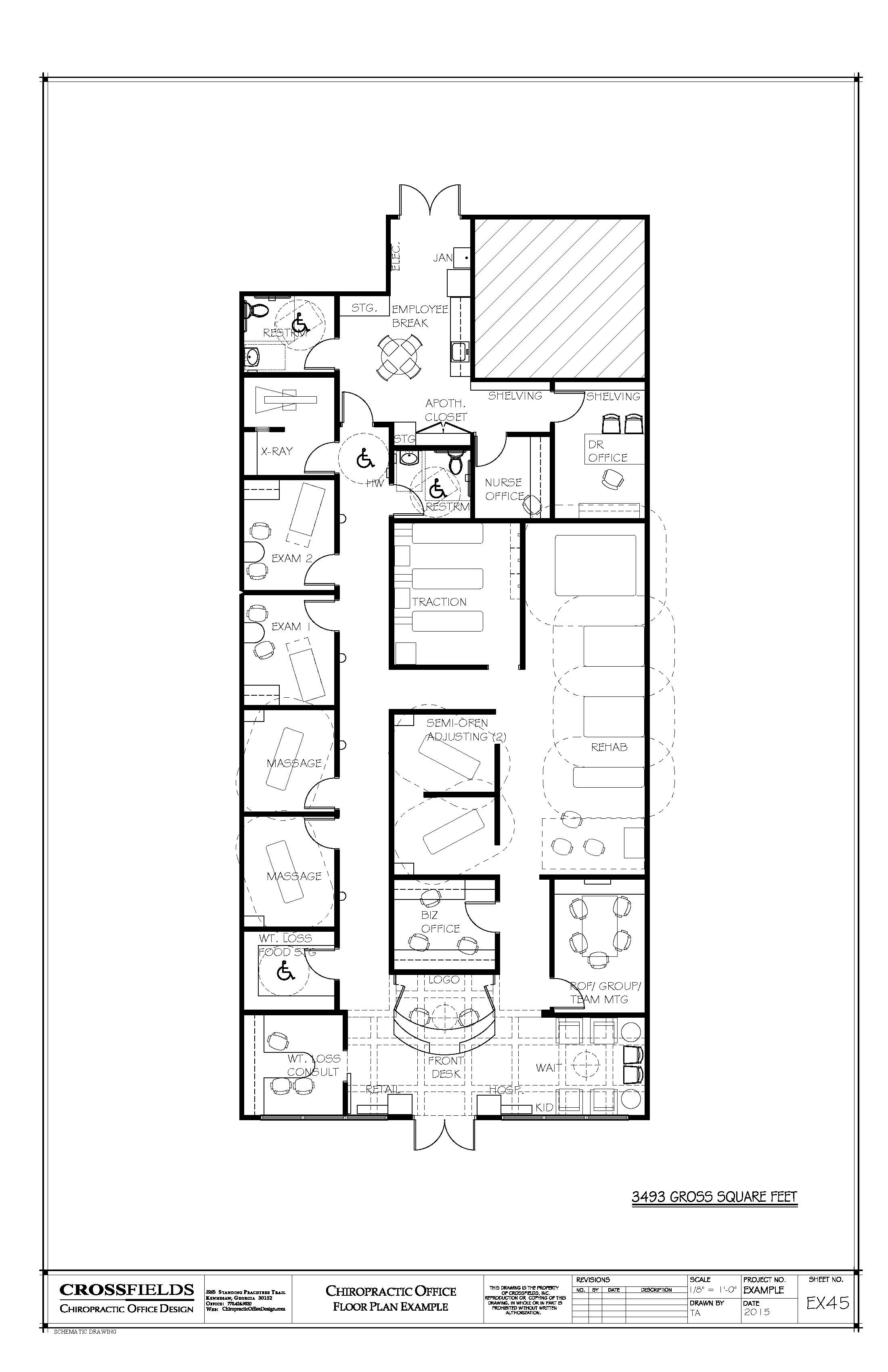 Drawn office hand drawn  Meeting 3 square #Floorplan