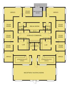 Drawn office office space Information Office Plans Office Floor