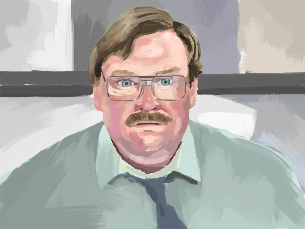 Drawn office office space (Stephen Chris the with Breier: