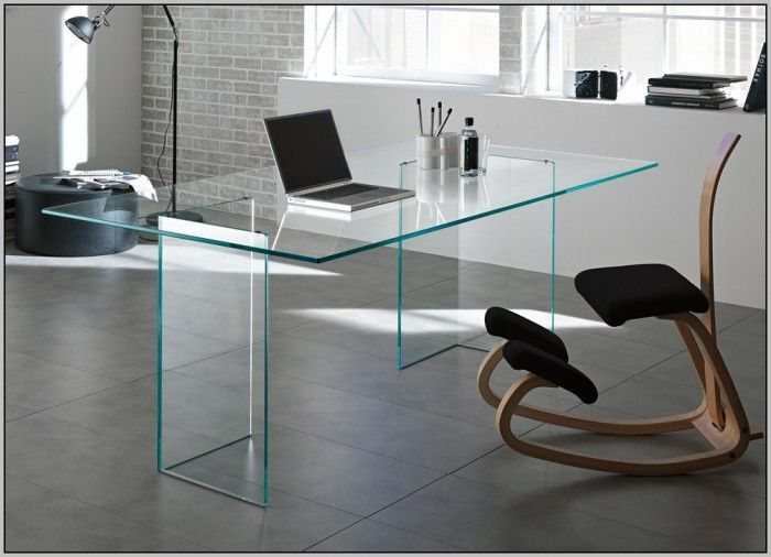 Drawn office office table Desk  Glass on Pinterest