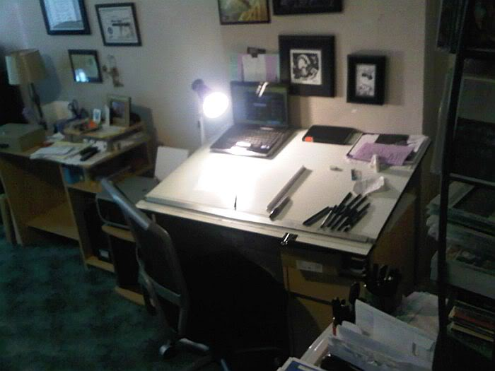 Drawn office office table Studio Pinterest They Where Where