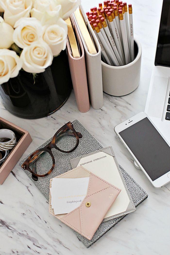 Drawn office office table Pinterest desk  Work decor