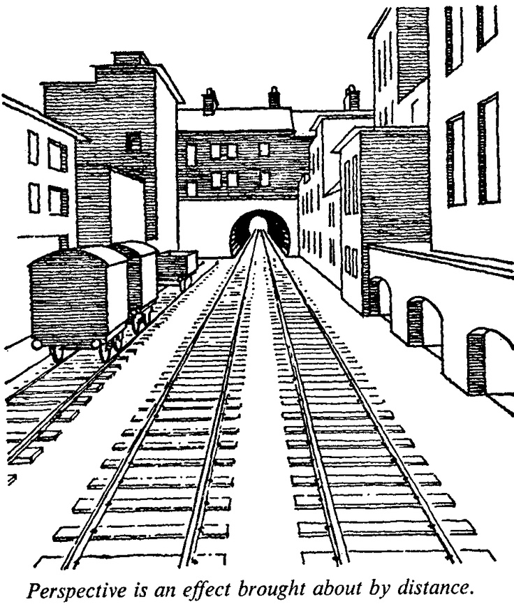 Drawn road one point Perspective everything this 25+ way