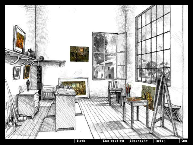 Drawn office one point perspective Perspective One  and Find