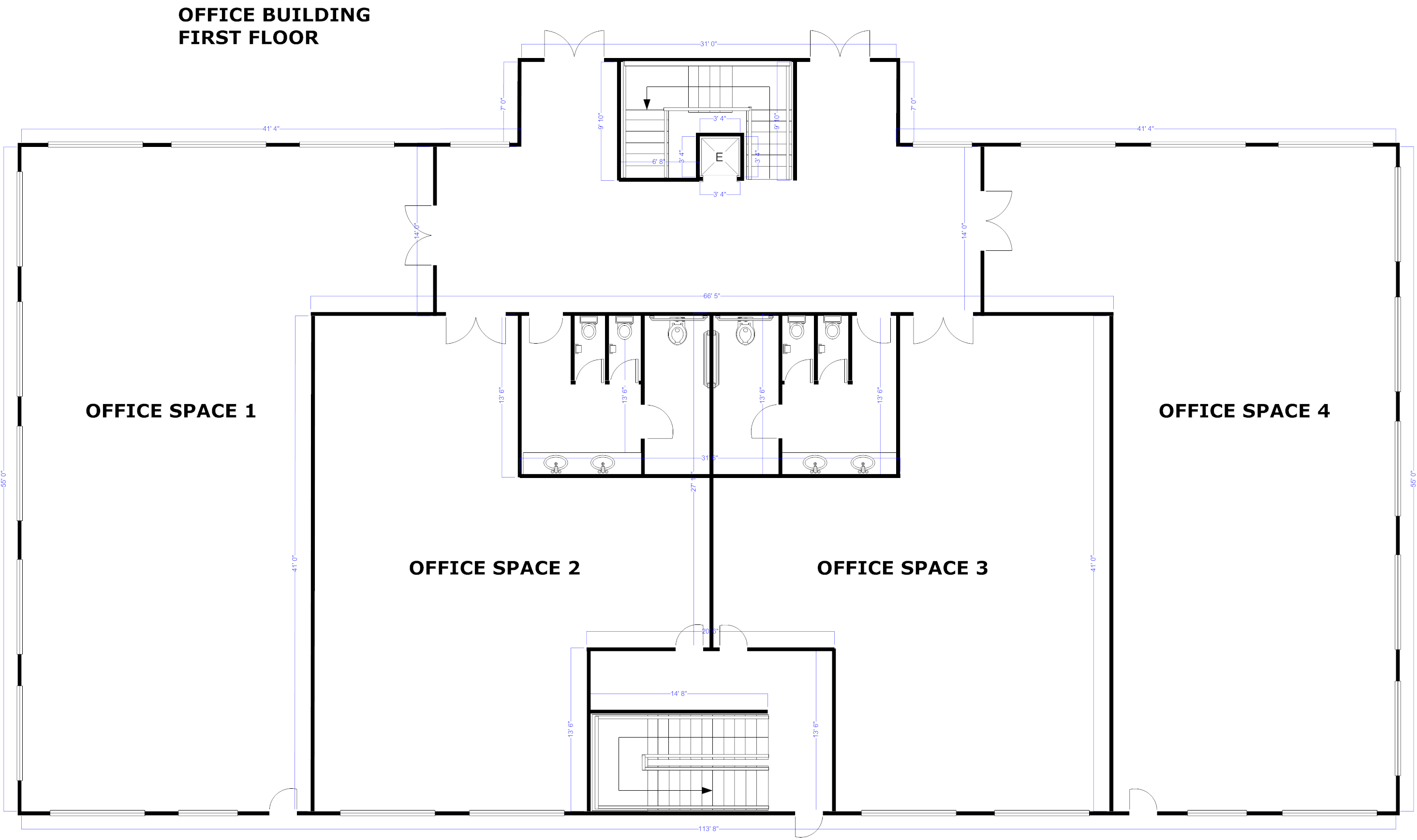 Drawn office plan drawing Blueprint Blueprint App Free &