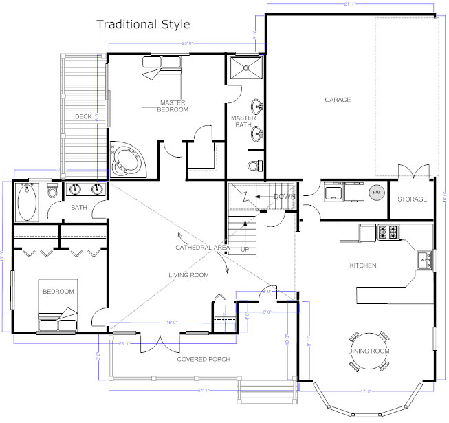 Drawn office plan drawing Floor plan to Floor Floor