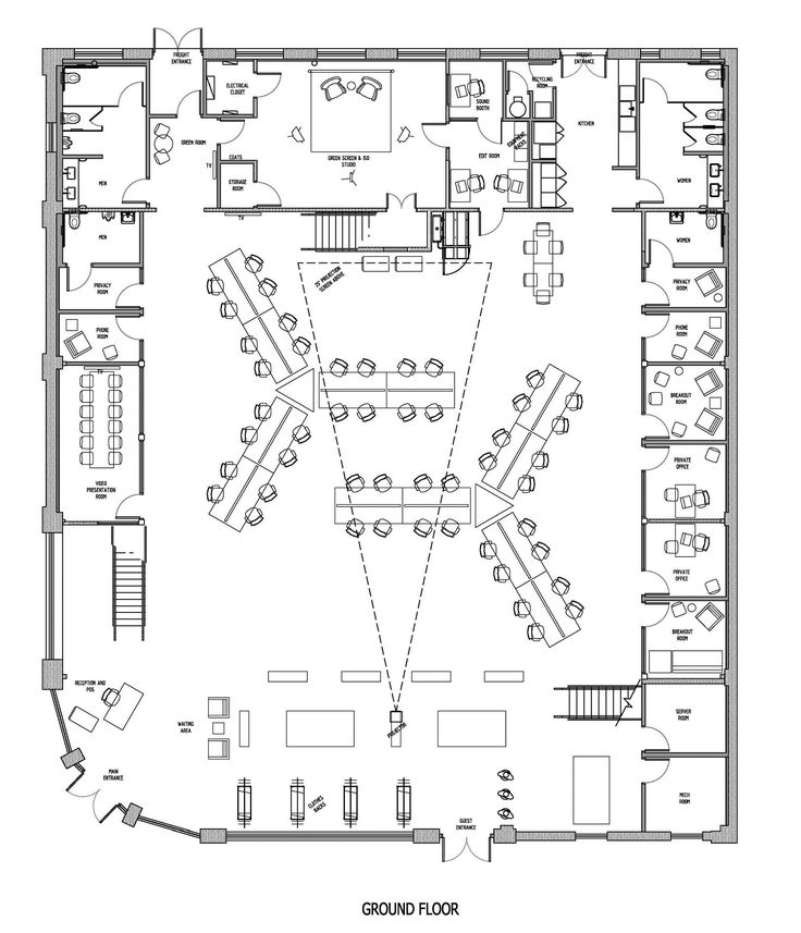 Drawn office plan drawing Gallery of ideas 18 on