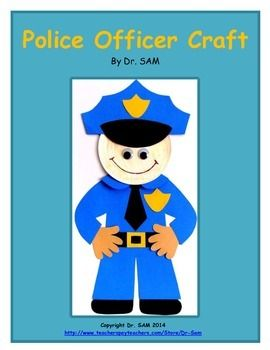 Drawn office police / on crafts Pinterest Officer