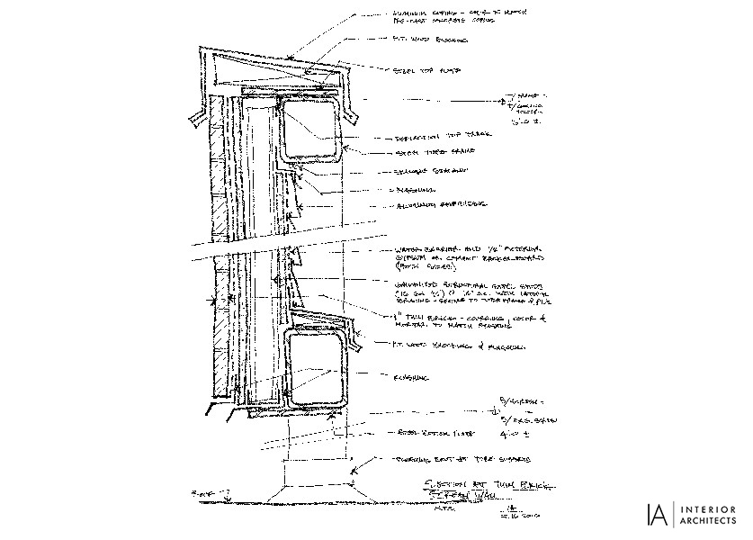 Drawn office principal And technical In: Interior Drawn