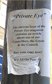 Drawn office private eye Reads: to telegraph pole Wikipedia