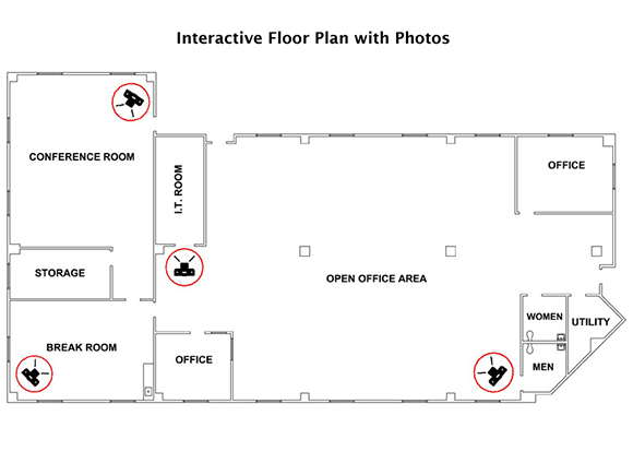 Drawn office real estate office Floor other drawn and for