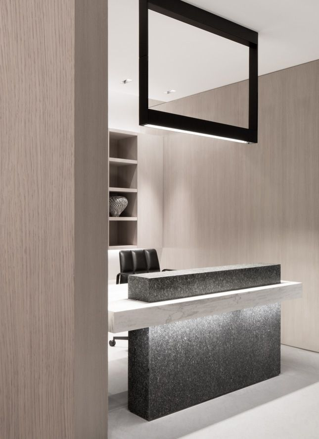 Drawn office reception area Ideas on Reception counter Best