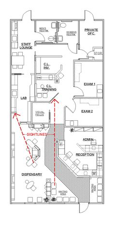 Drawn office room design 600x386 Office Highly 5