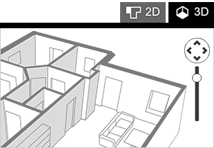 Drawn office room design You plan 3D Space Draw