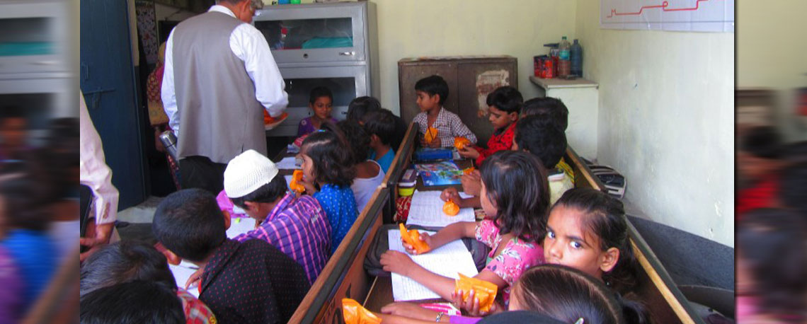 Drawn office school principal  School Vision
