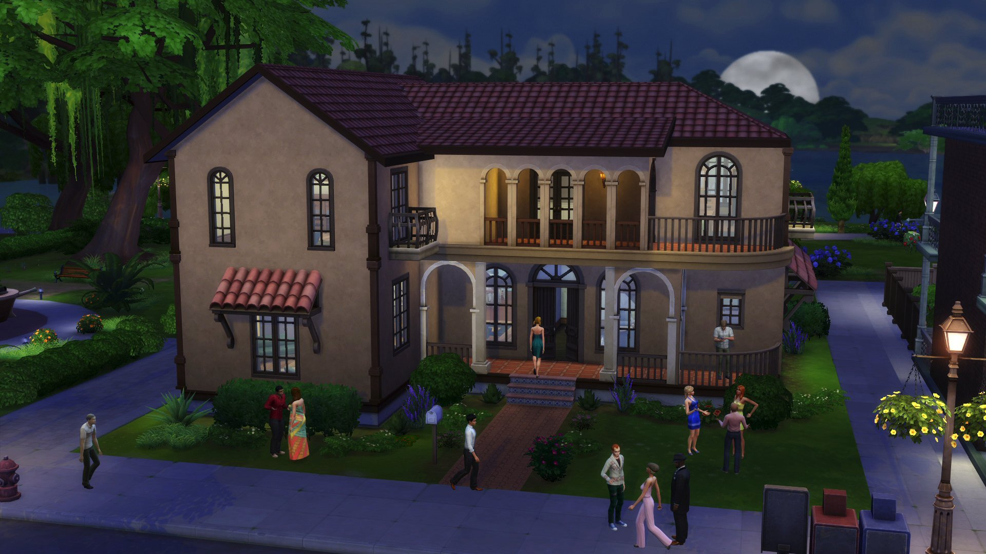 Drawn office sims Patio Perfect 4: [Online Sims