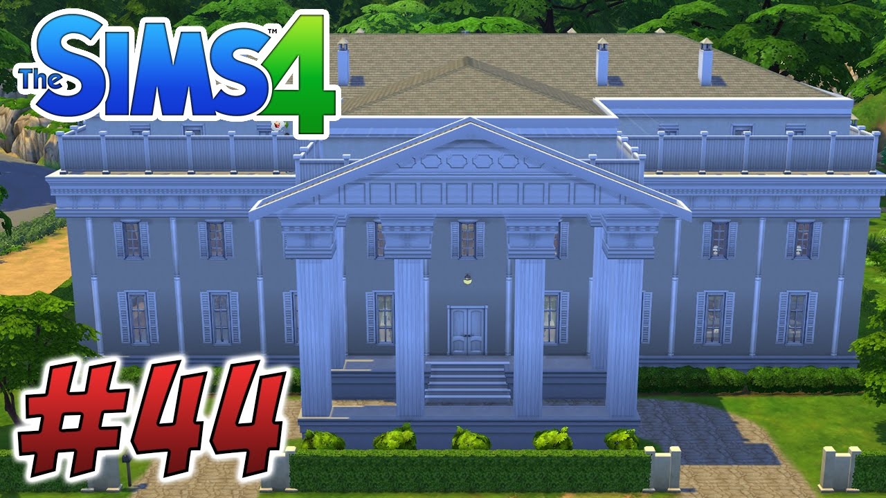 Drawn office sims House! White The Movie 4: