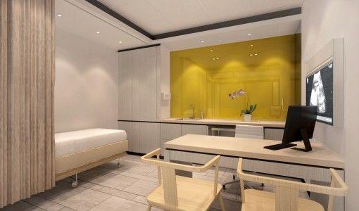 Drawn office small clinic Design small clinic Interior interior