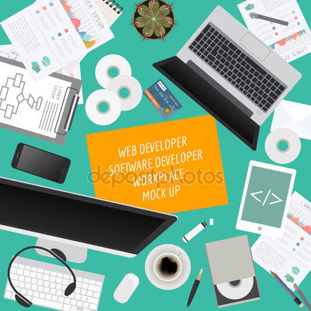 Drawn office software engineer Software developer  developer software